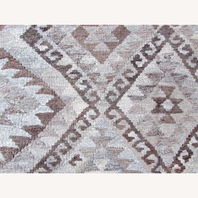 Handmade vintage Afghan kilim - image-2