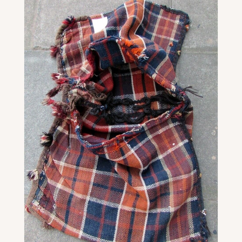 Handmade vintage Persian Ardabil kilim bag - image-3