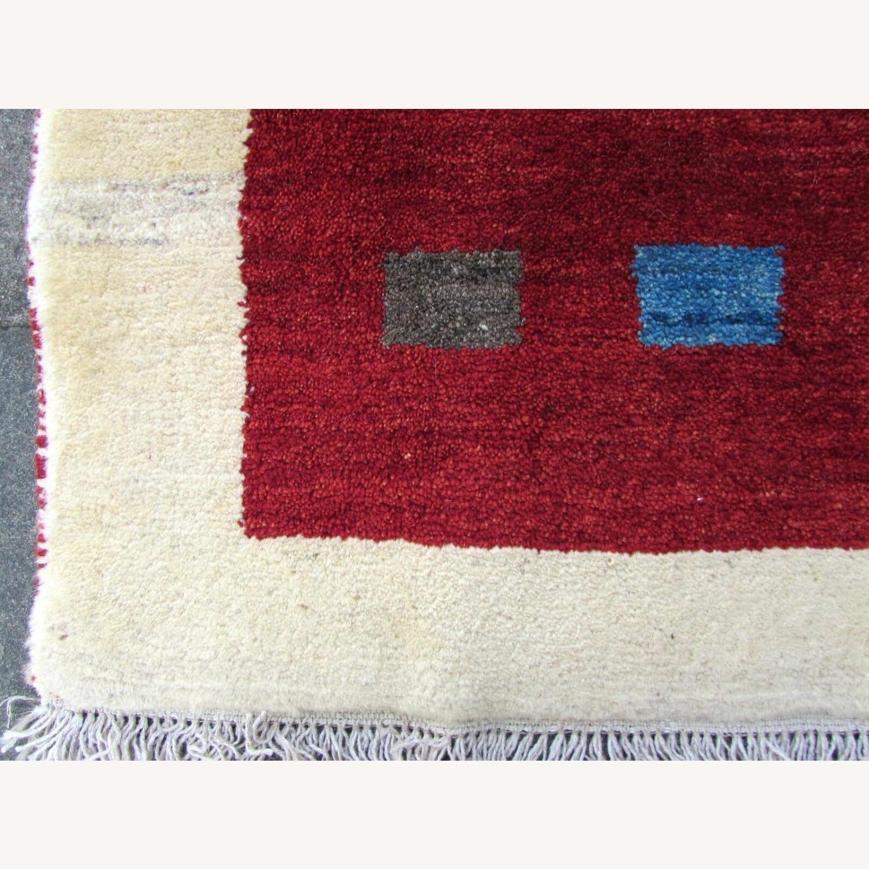 Handmade vintage Persian Gabbeh rug - image-3
