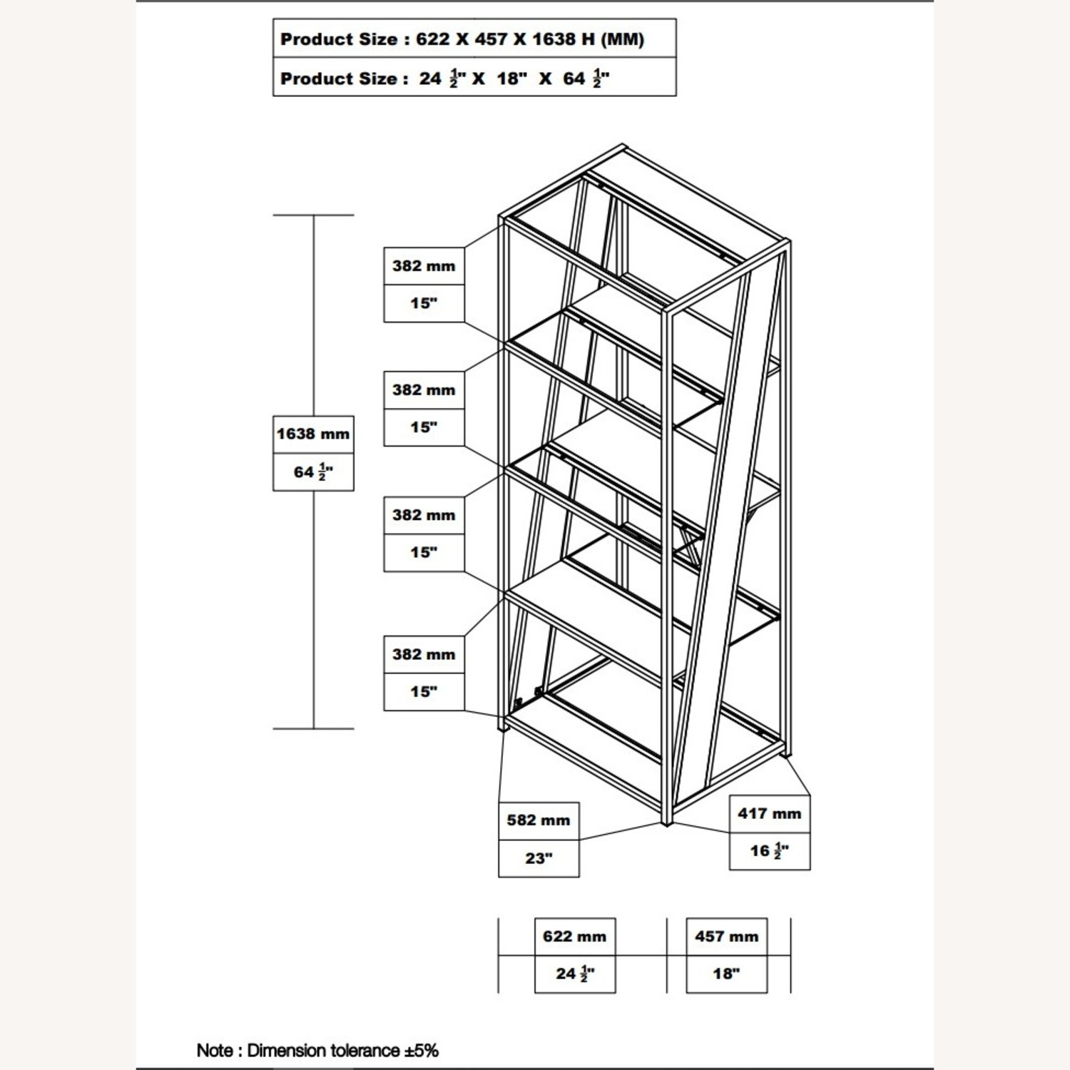 Bookcase In Chrome W/ Tempered Glass Tops - image-4