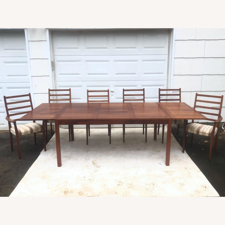 Mid-Century Rosewood Dining Room Set - image-2