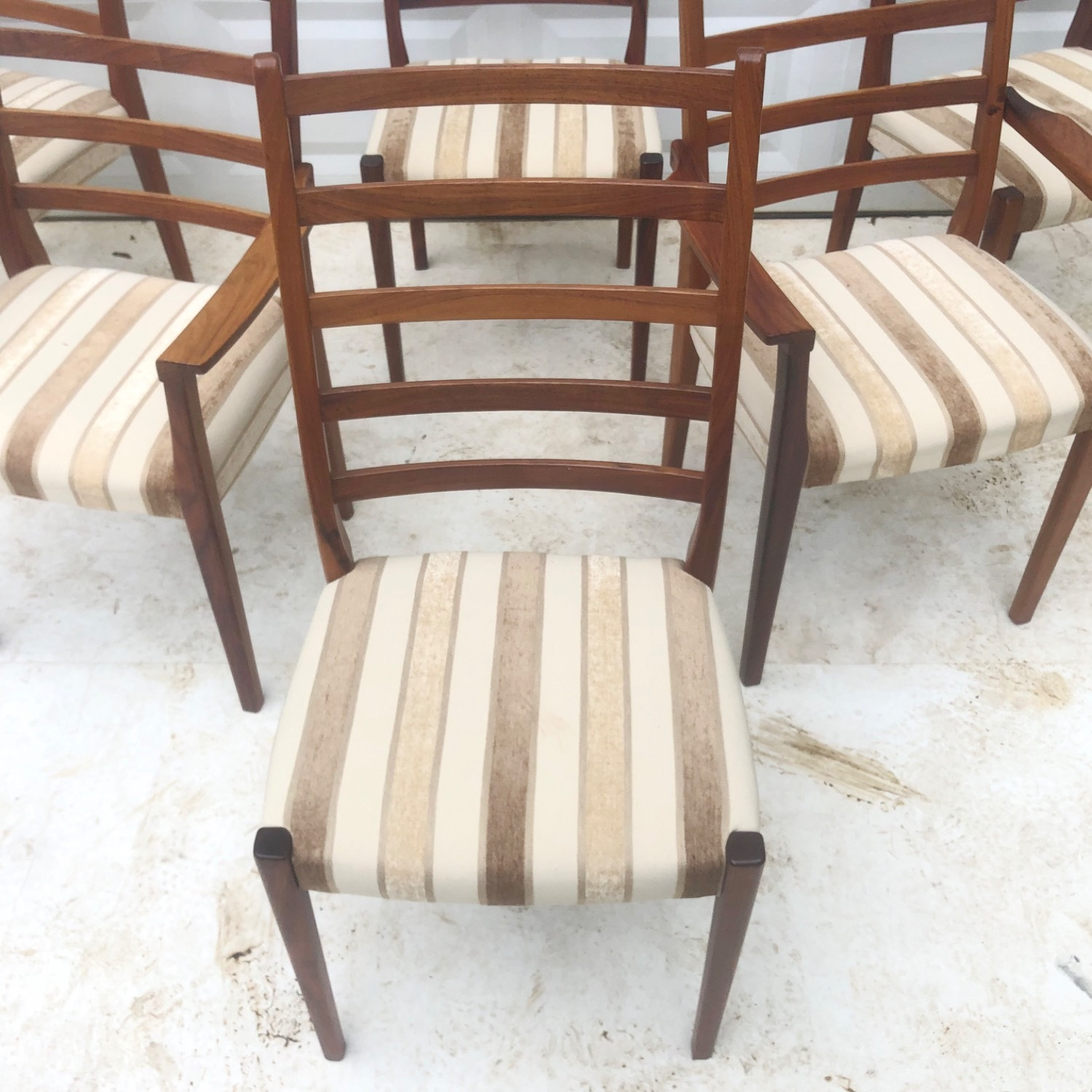 Mid-Century Rosewood Dining Chairs Set of 6 - image-6