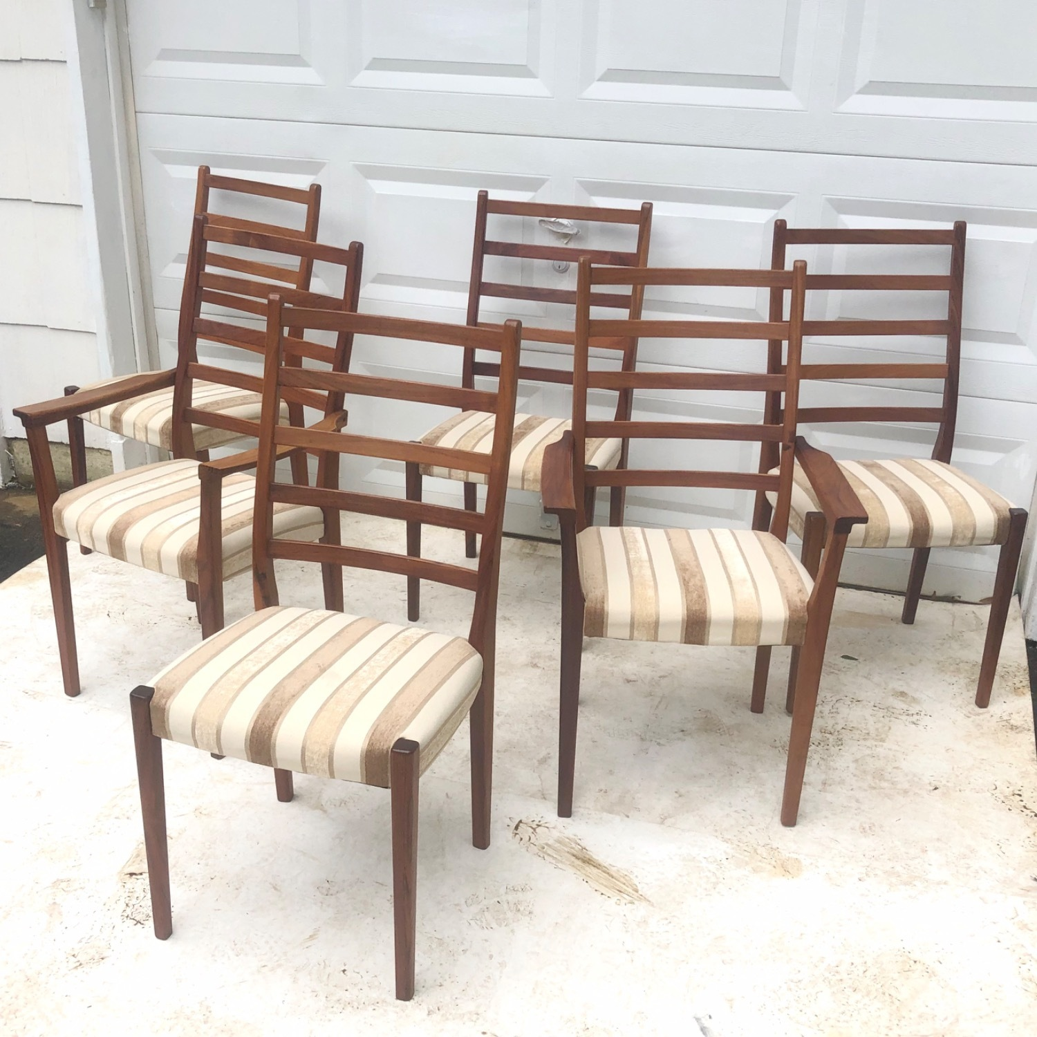 Mid-Century Rosewood Dining Chairs Set of 6 - image-3
