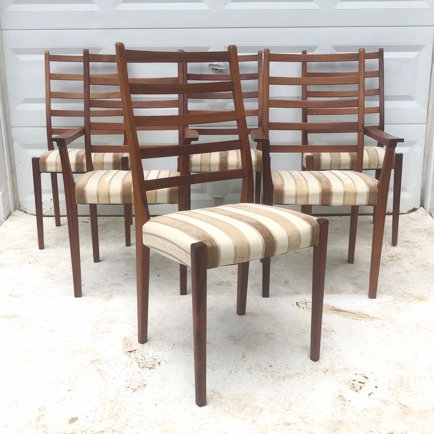 Mid-Century Rosewood Dining Chairs Set of 6 - image-1