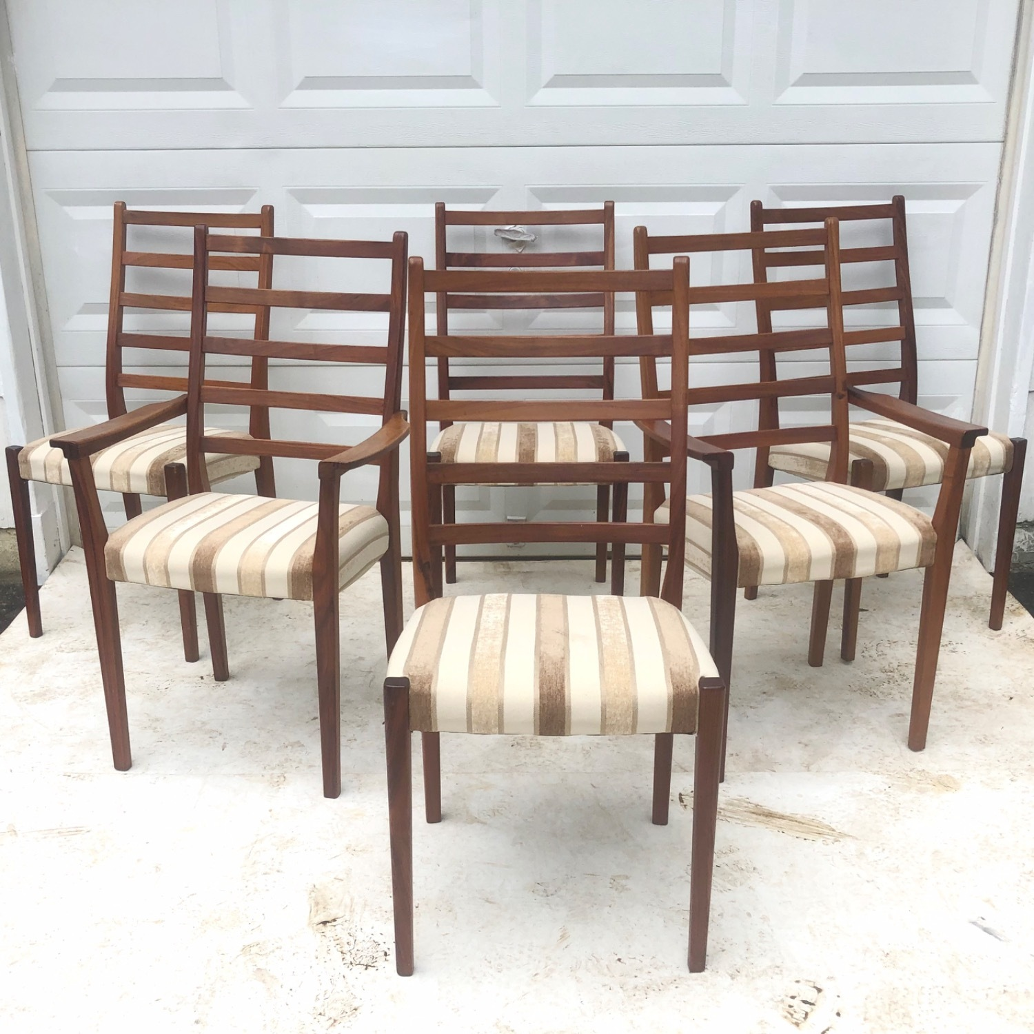 Mid-Century Rosewood Dining Chairs Set of 6 - image-2