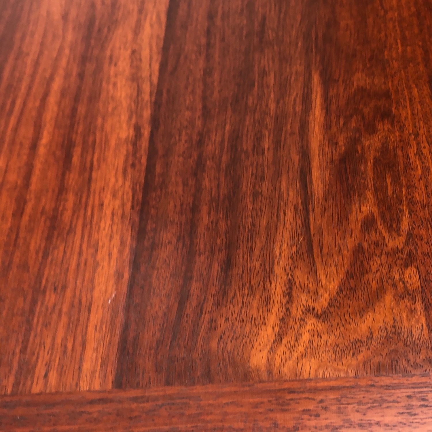 Mid-Century Rosewood Dining Table With Leaves - image-22