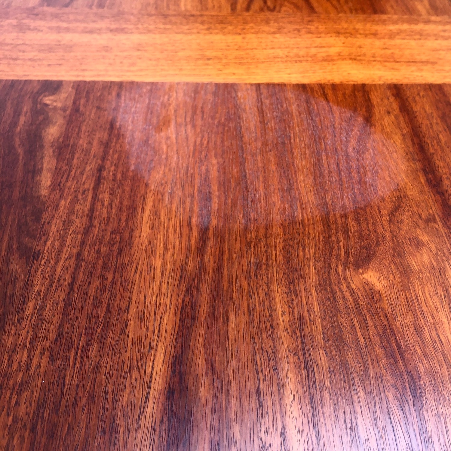 Mid-Century Rosewood Dining Table With Leaves - image-21