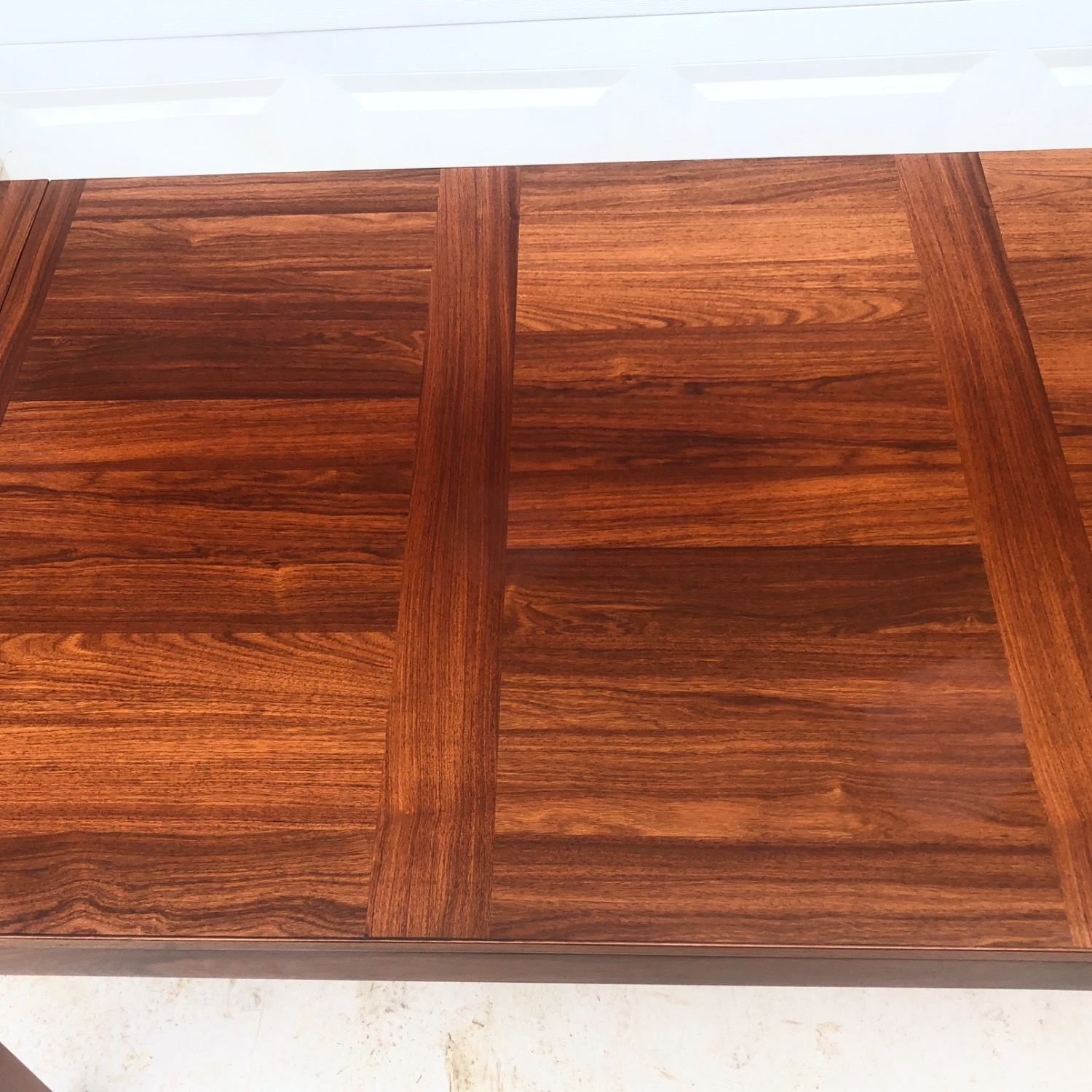 Mid-Century Rosewood Dining Table With Leaves - image-5