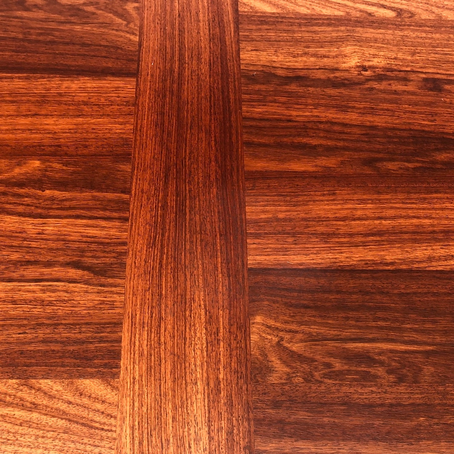 Mid-Century Rosewood Dining Table With Leaves - image-10