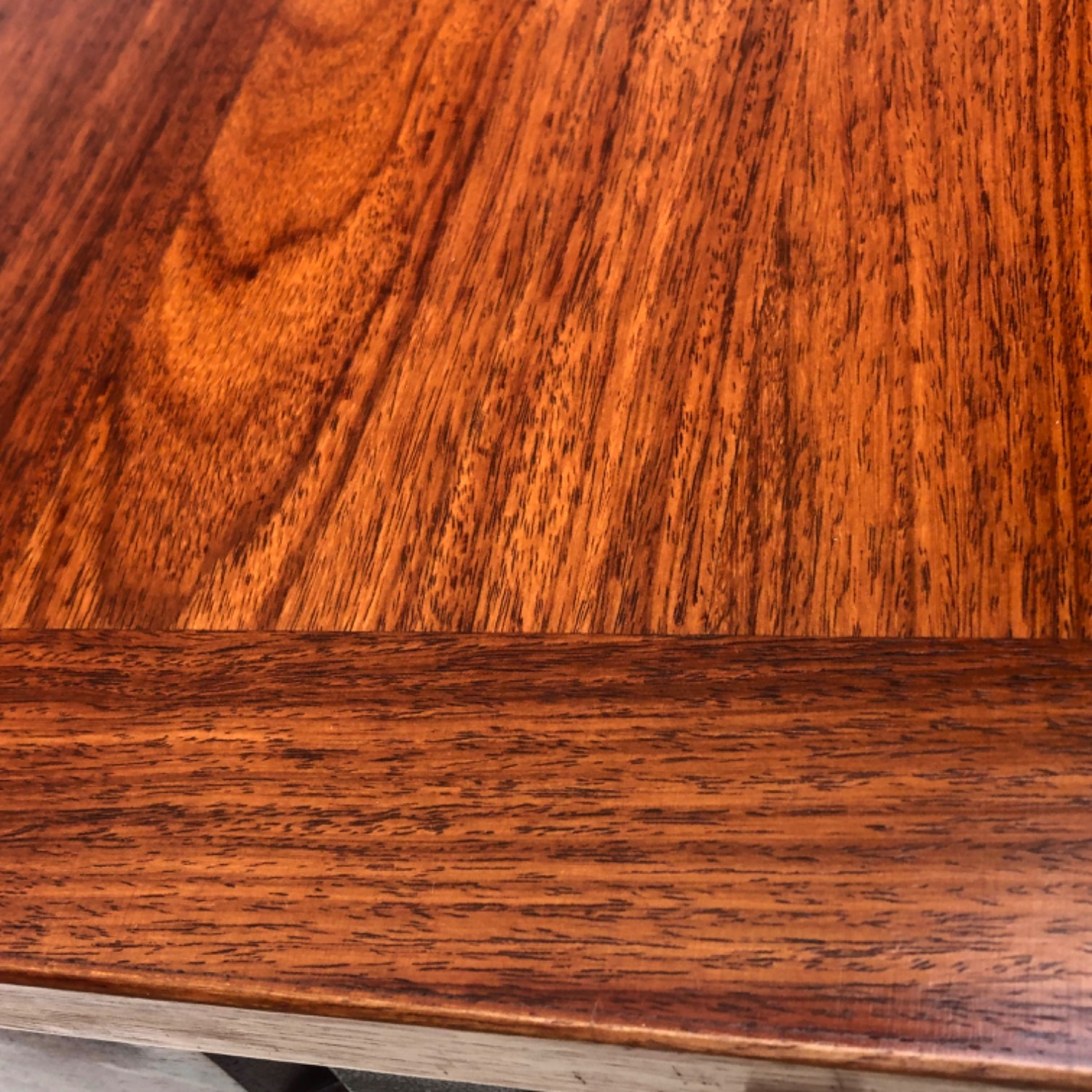 Mid-Century Rosewood Dining Table With Leaves - image-20