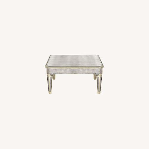 Used One Kings Mirrored Coffee Table for sale on AptDeco