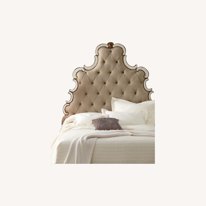 Wayfair Mirrored Queen Headboard - image-0