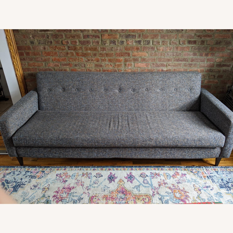 Joybird Grey/Blue Korver Sofa - image-1