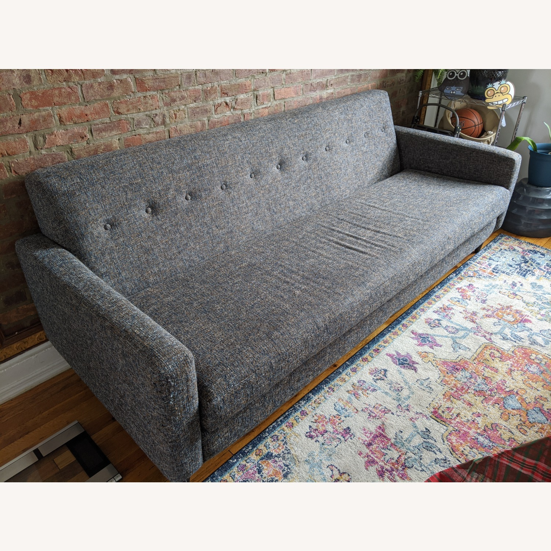 Joybird Grey/Blue Korver Sofa - image-2