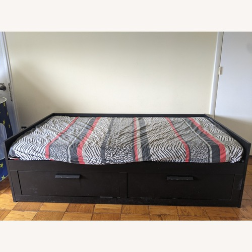 Used IKEA Daybed Frame w/ 2 Drawers for sale on AptDeco