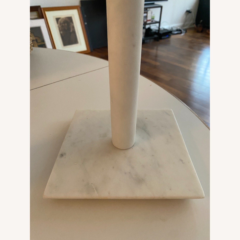 Williams Sonoma Marble Paper Towel Holder - image-2