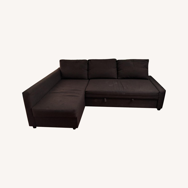 IKEA Sleeper Sectional - 3 Seat w/ Storage - image-0