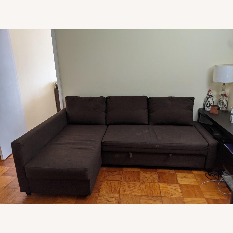 IKEA Sleeper Sectional - 3 Seat w/ Storage - image-1
