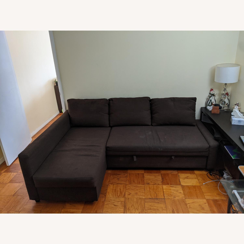 IKEA Sleeper Sectional - 3 Seat w/ Storage - image-4