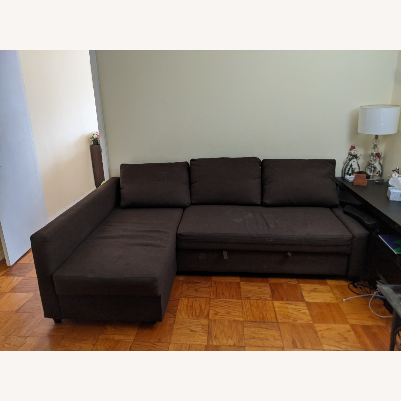 IKEA Sleeper Sectional - 3 Seat w/ Storage - image-3