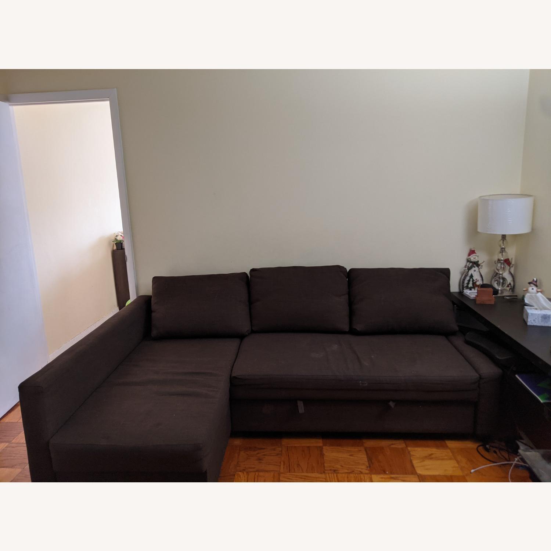 IKEA Sleeper Sectional - 3 Seat w/ Storage - image-2
