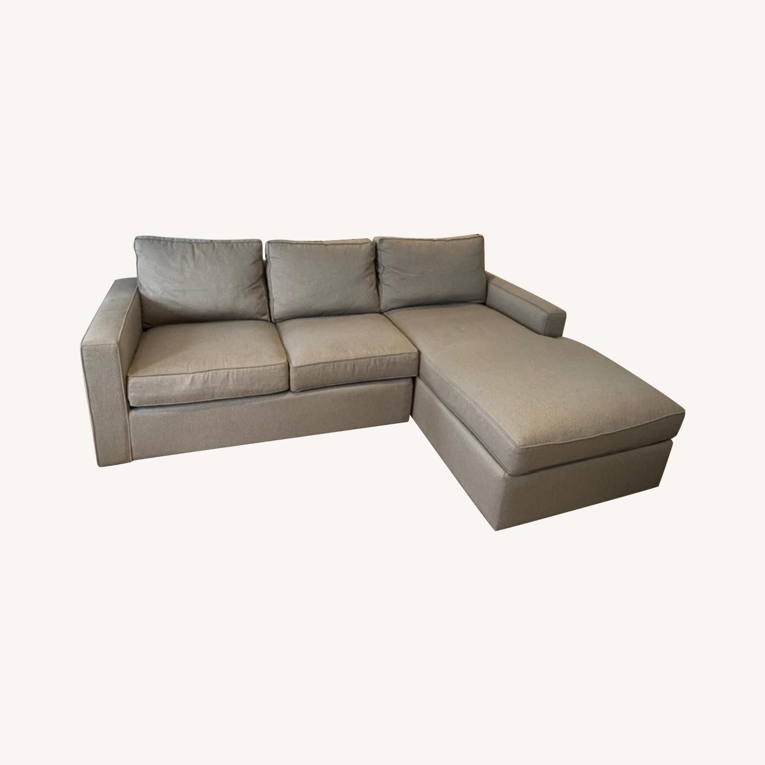 Room & Board York Sofa with Chaise - image-0