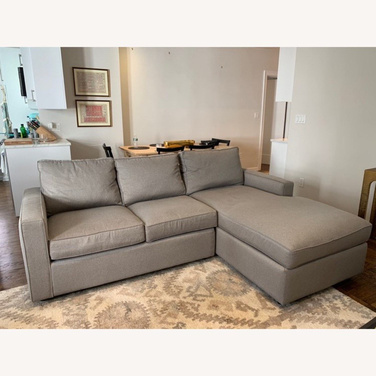 Room & Board York Sofa with Chaise - image-5
