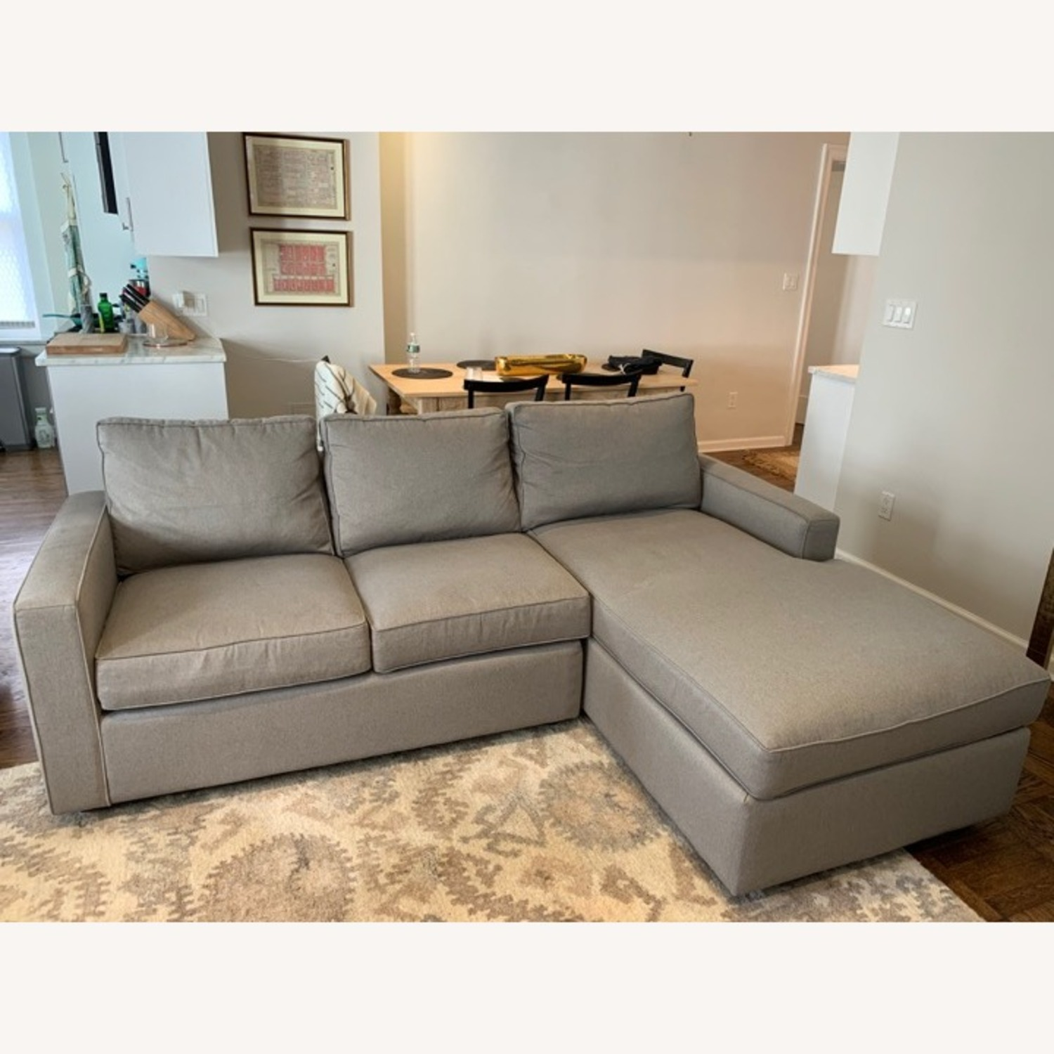 Room & Board York Sofa with Chaise - image-1