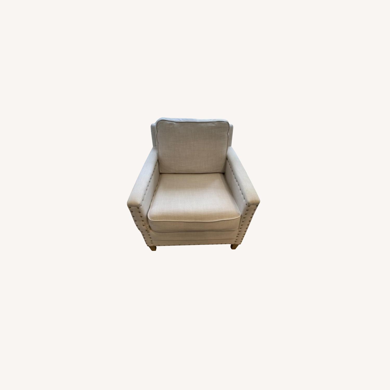 Pair of Joss & Main Armchairs - image-0