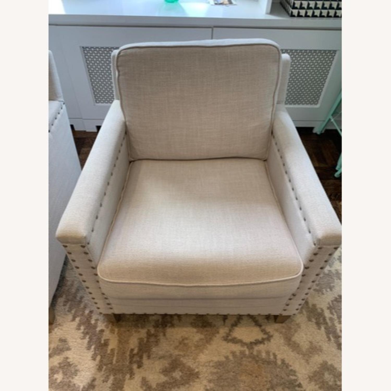 Pair of Joss & Main Armchairs - image-4