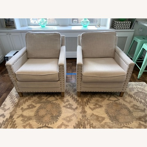 Used Pair of Joss & Main Armchairs for sale on AptDeco