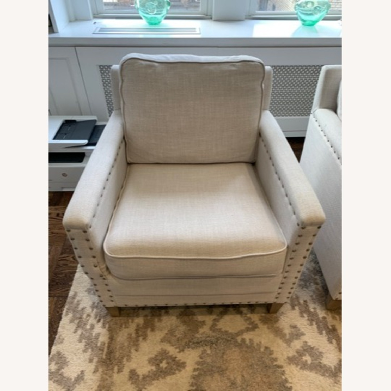 Pair of Joss & Main Armchairs - image-5