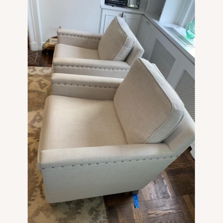 Pair of Joss & Main Armchairs - image-2