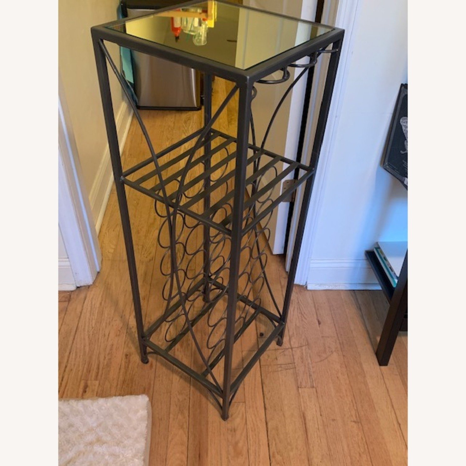 Pier 1 Metal Wine Rack - image-2