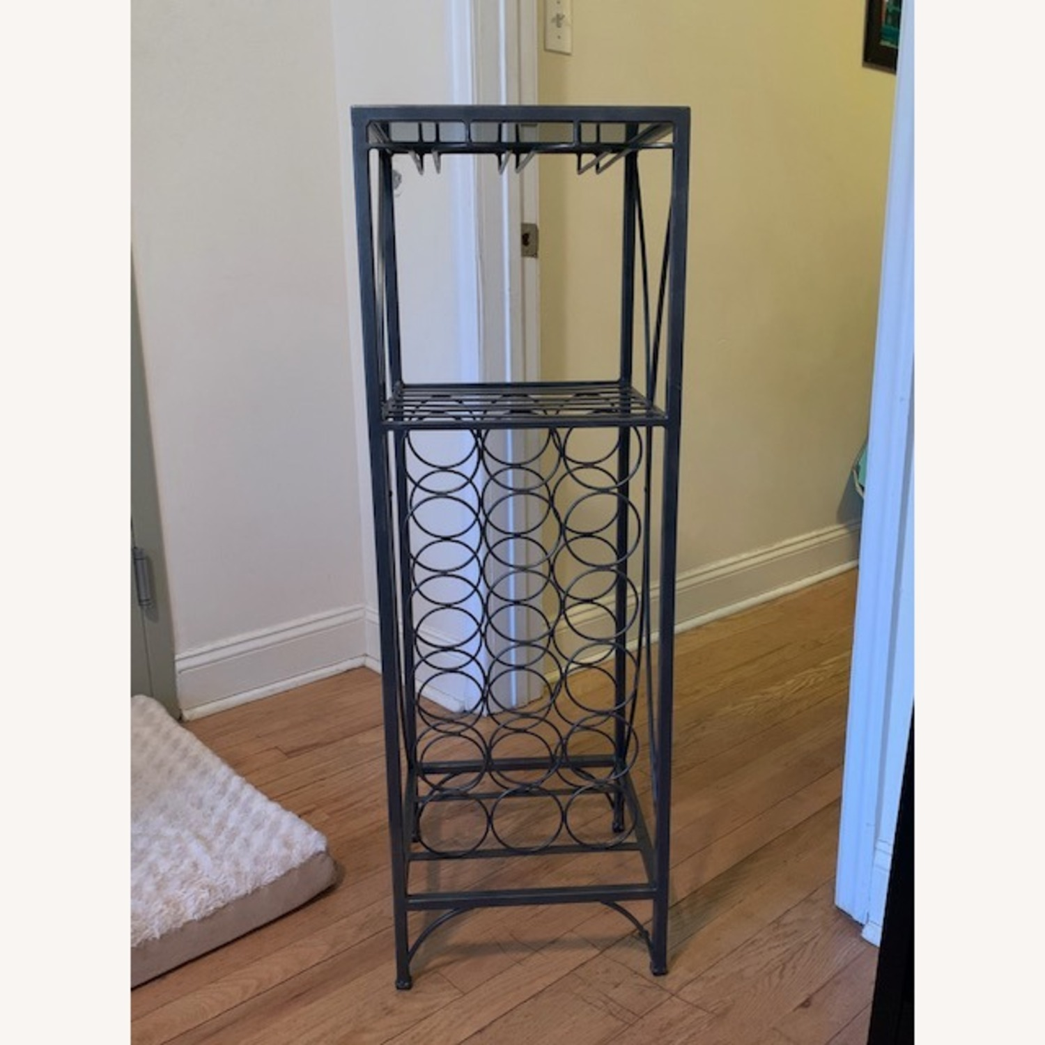Pier 1 Metal Wine Rack - image-1