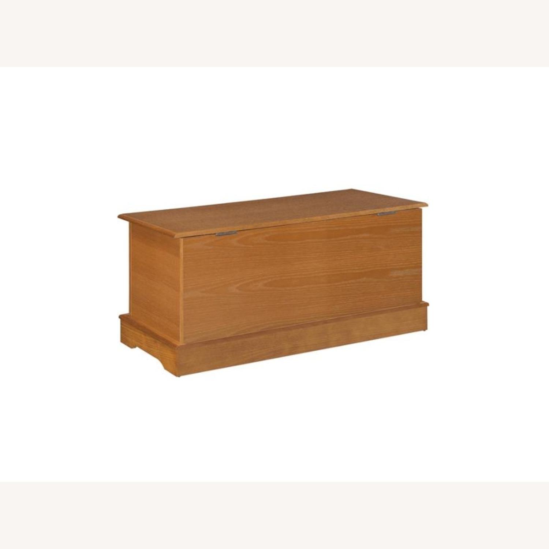 Cedar Chest In Honey Color Finish - image-0