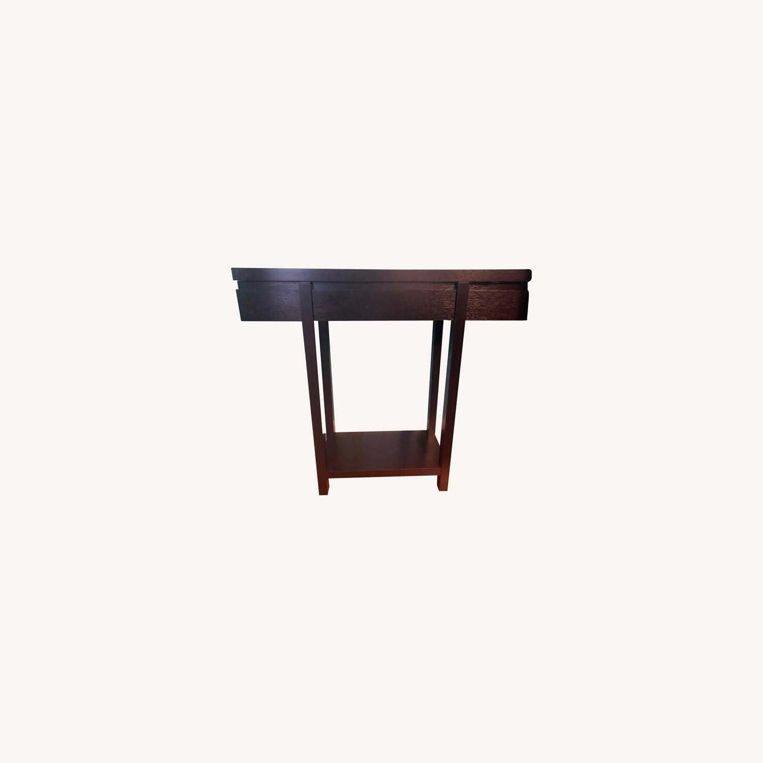 Sleek Entryway Console Table - image-0