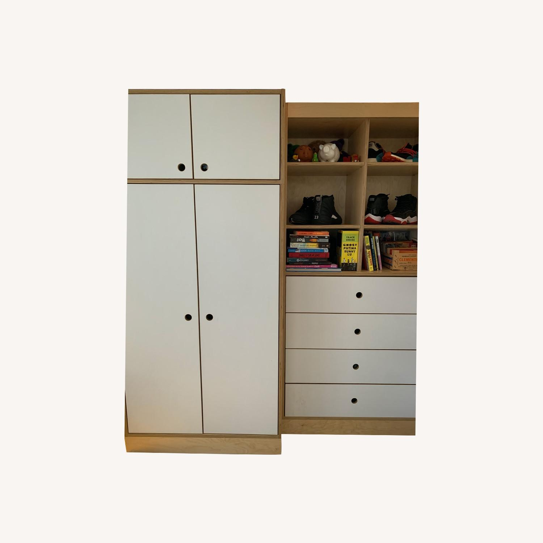 CasaKids Dresser With Storage Cabinet - image-0