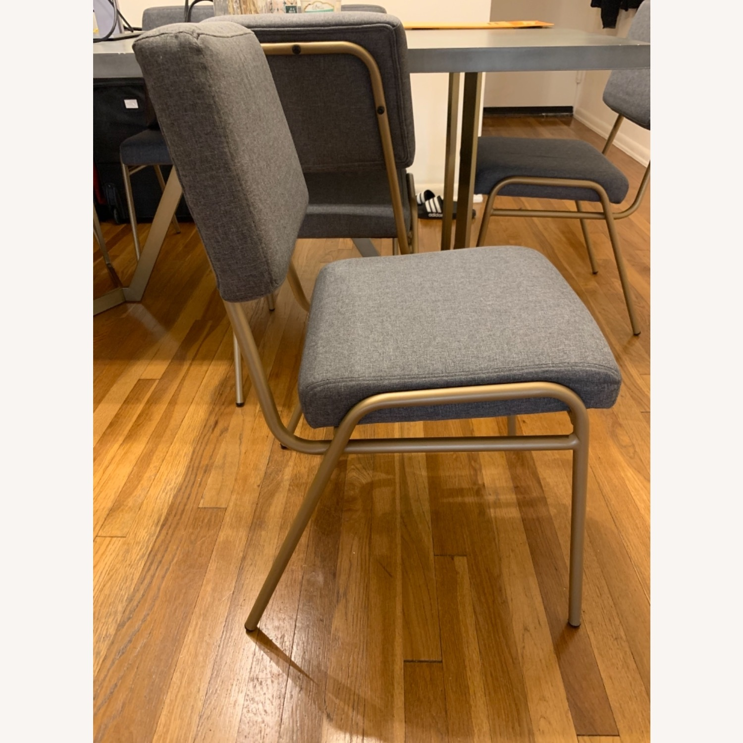 West Elm Wire Frame Dinning Chair - image-3