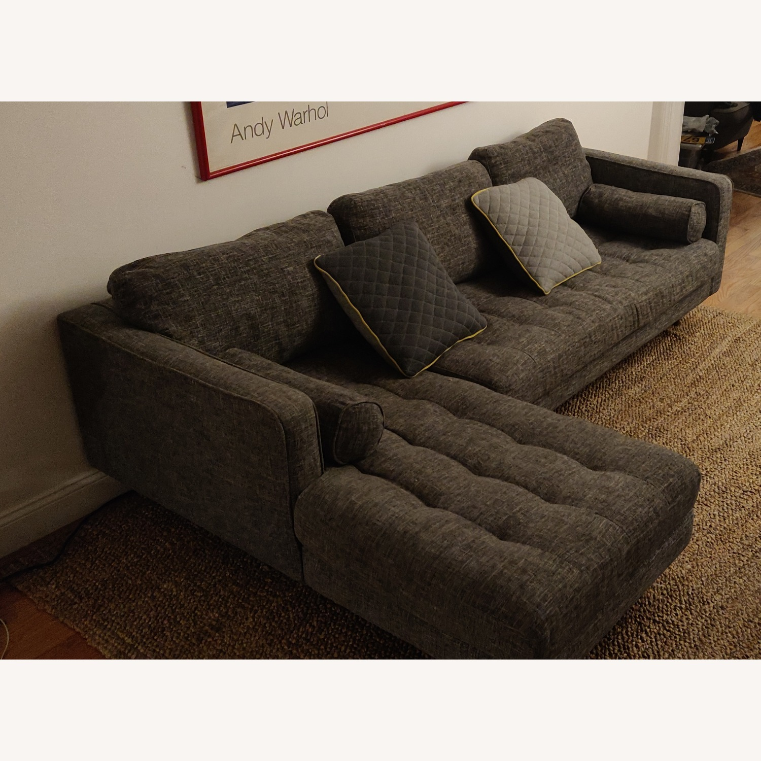 Article Sven Left Sectional Couch - image-2