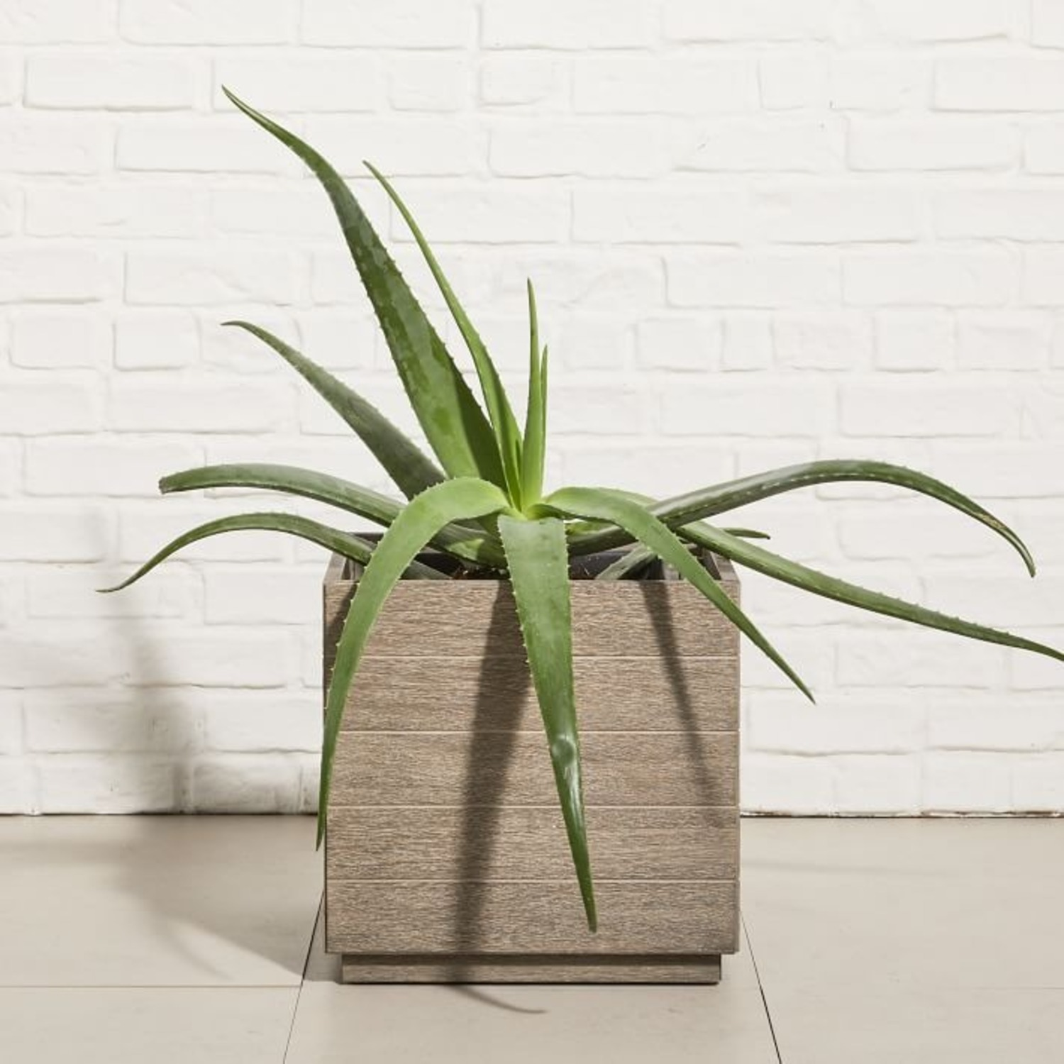 West Elm Portside Outdoor Planter - image-1