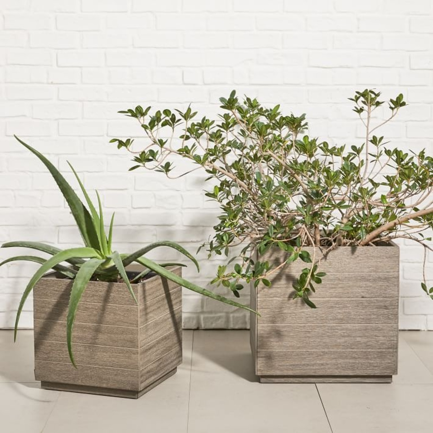 West Elm Portside Outdoor Planter - image-2