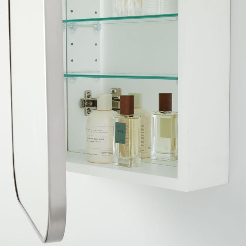 West Elm Seamless Medicine Cabinets, Chrome - image-3
