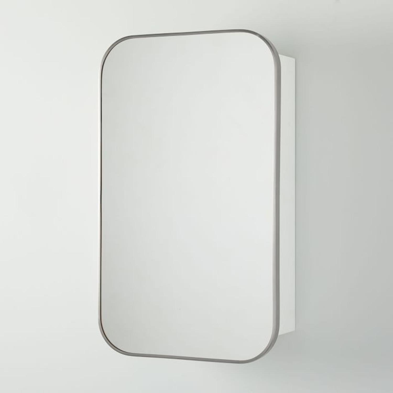 West Elm Seamless Medicine Cabinets, Chrome - image-1