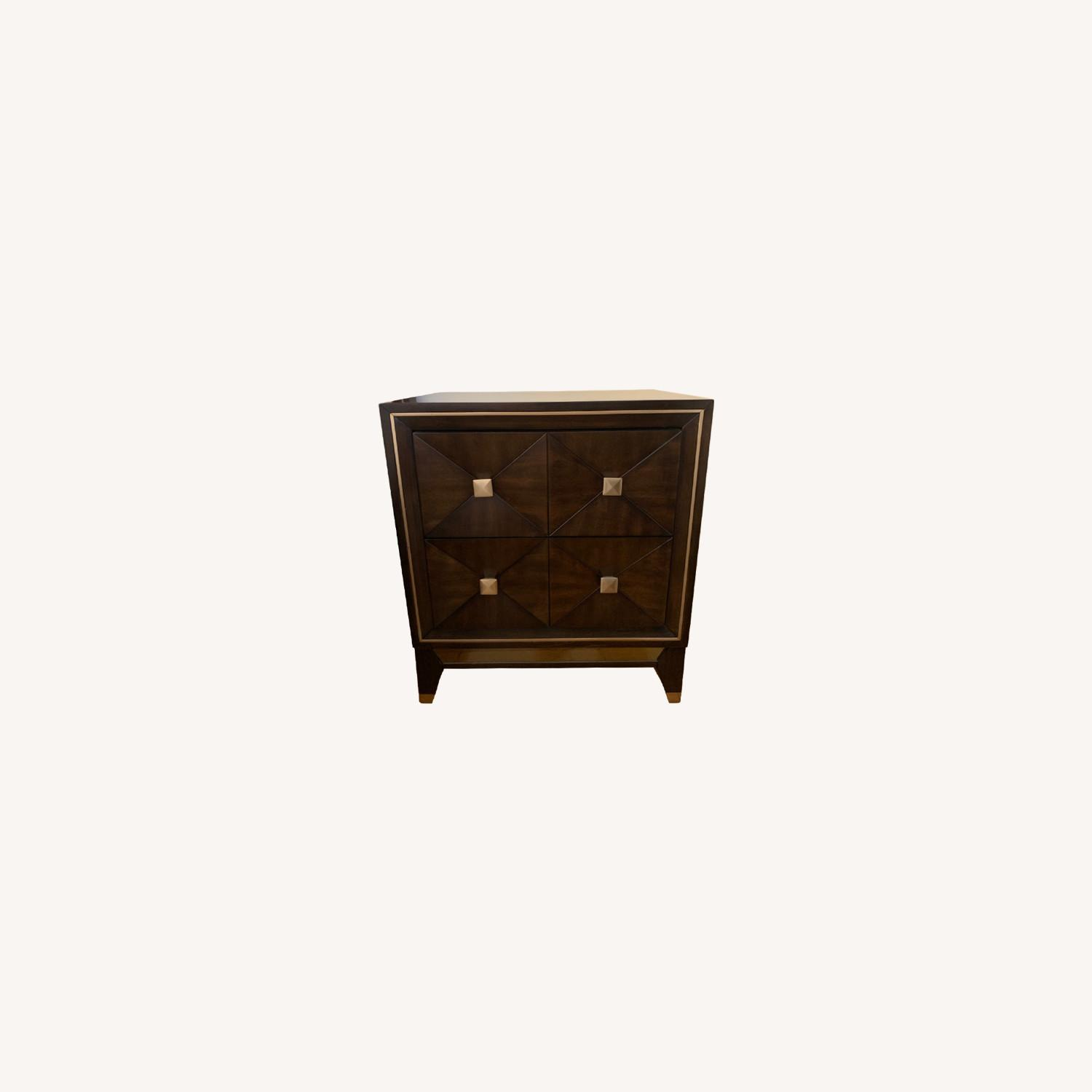 Bob's Discount Furniture Chocolate Nightstand - image-0
