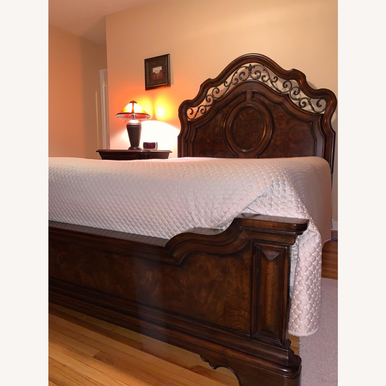 Mahogany Queen Bed - image-3
