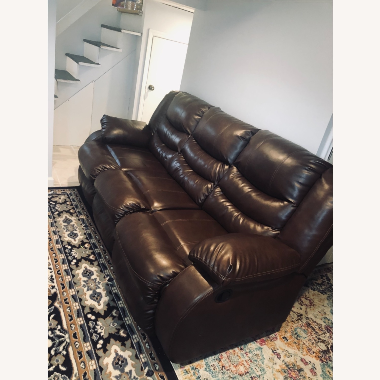 Wayfair Genuine Leather Sofa - image-2