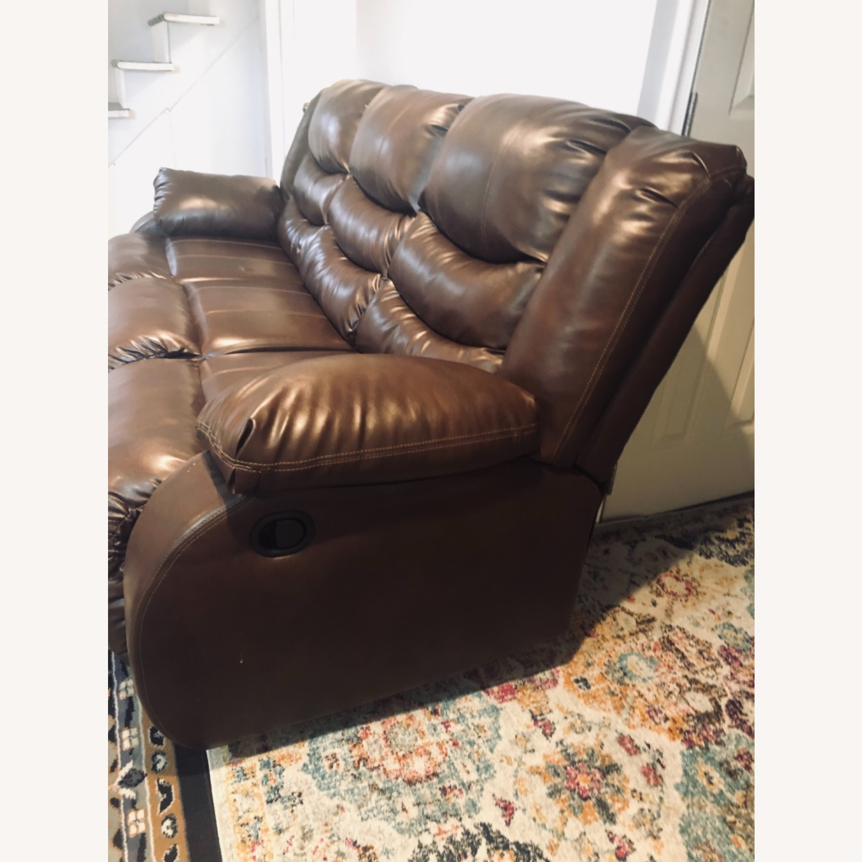 Wayfair Genuine Leather Sofa - image-5