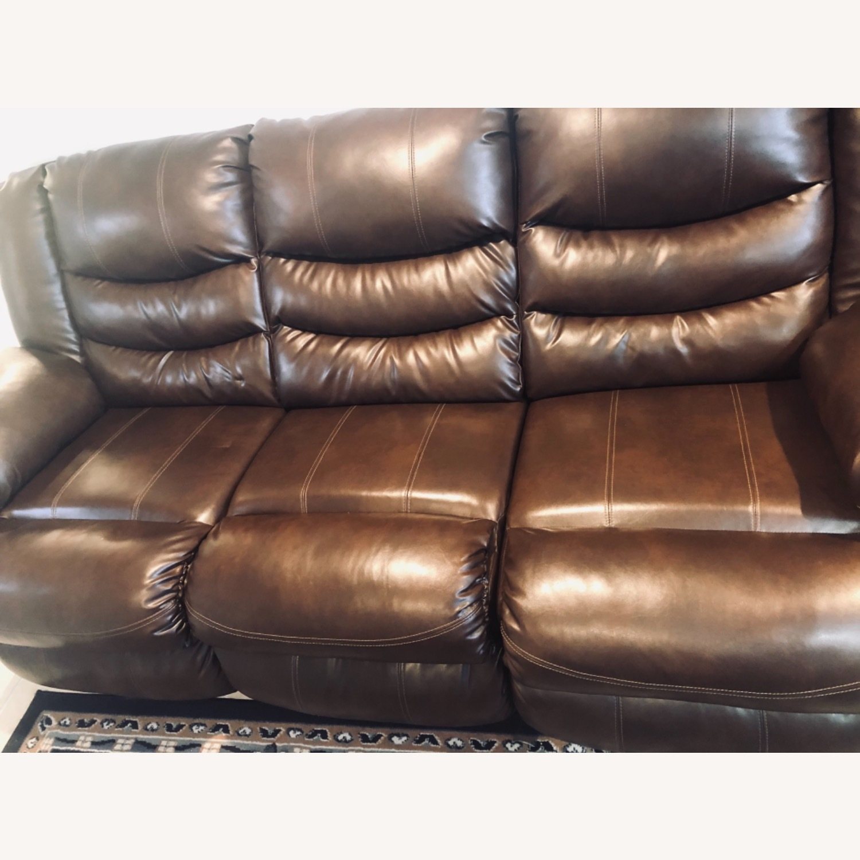 Wayfair Genuine Leather Sofa - image-6