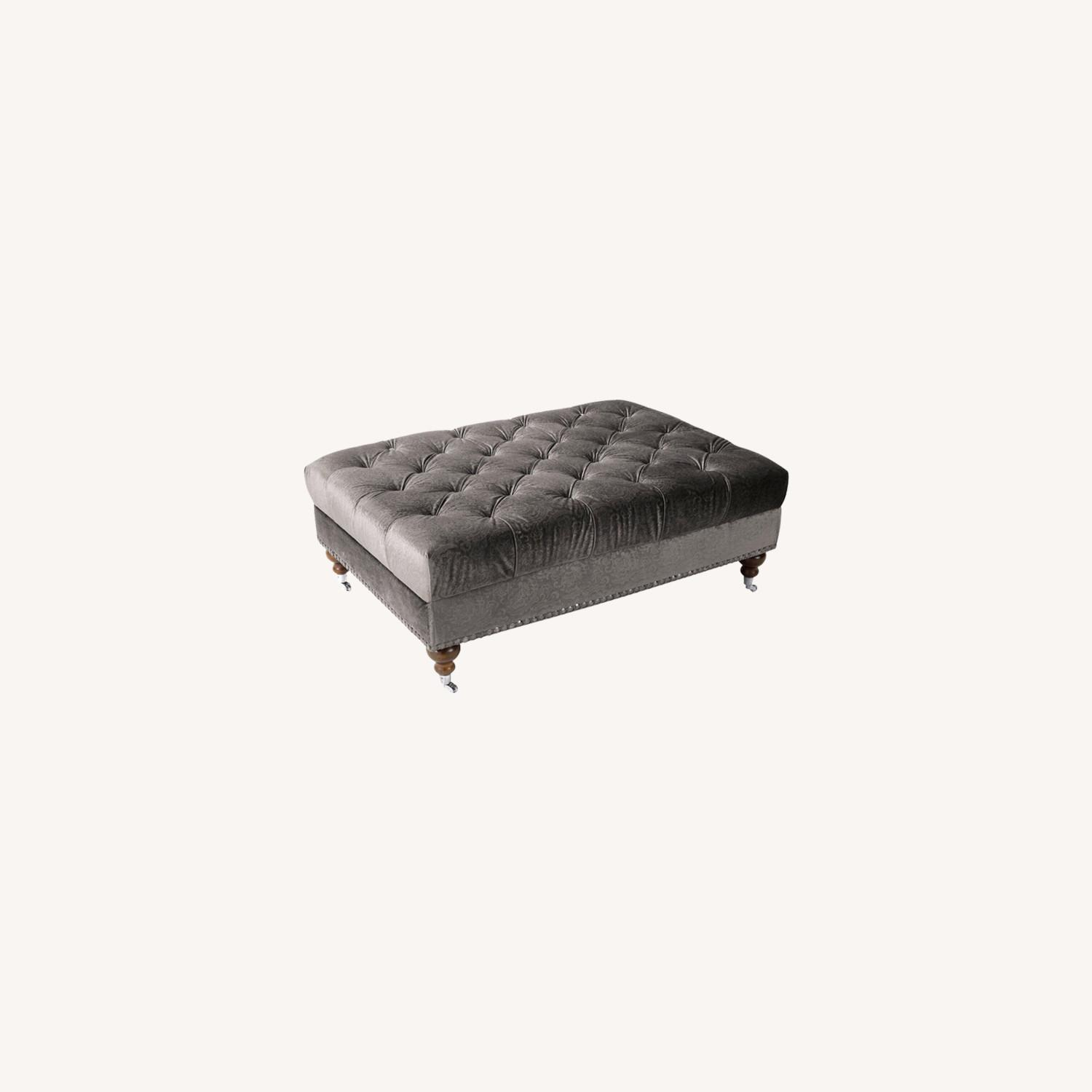 Raymour & Flanigan Duchess Cocktail Ottoman by Aria Designs - image-0